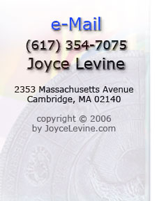 Link to email Joyce Levine